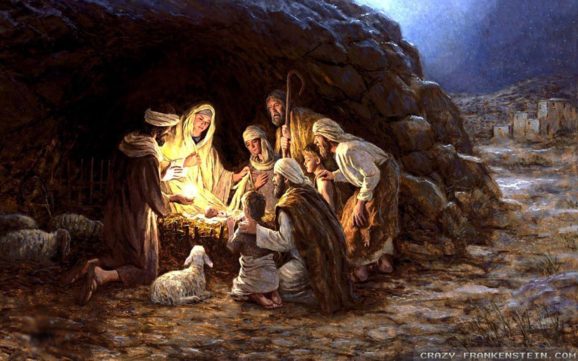 Jėzus kristus, kūdikis.