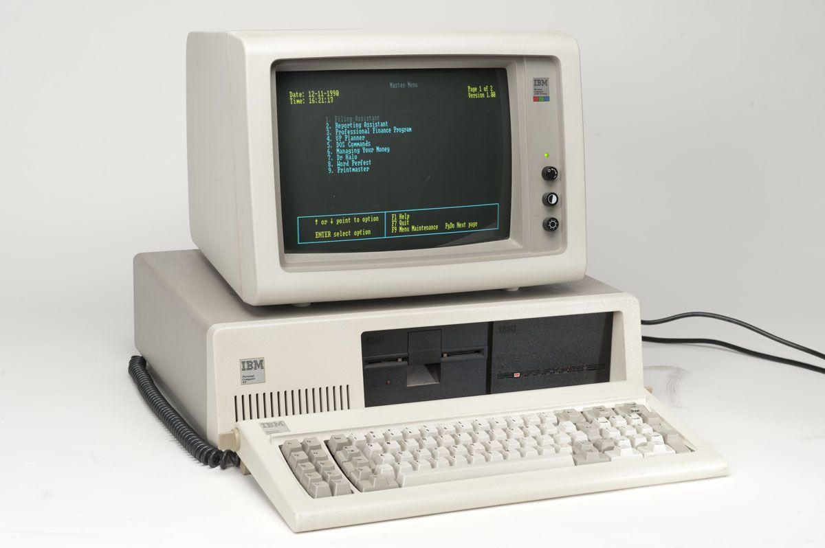 Senovinis asmeninis kompiuteris - IBM PC