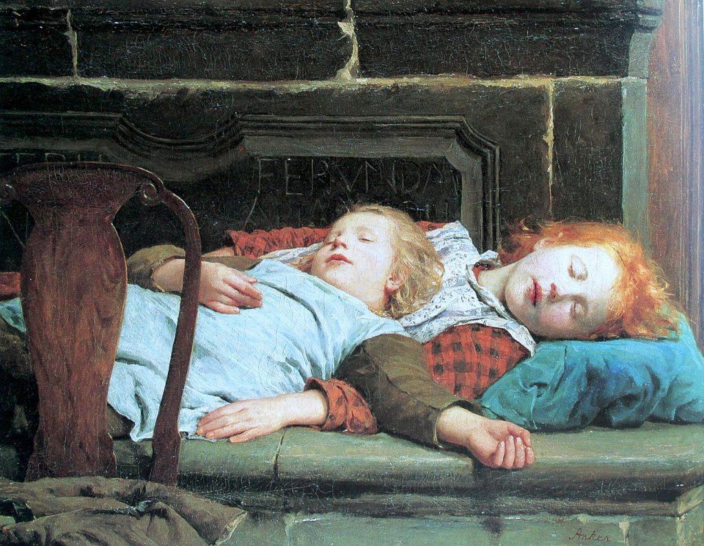 Dviese miega